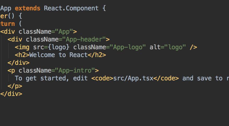 ReactJS App starter Projekt